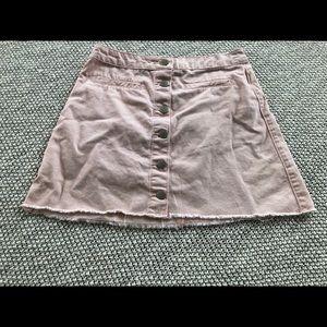 Forever 21 pink mini skirt size s